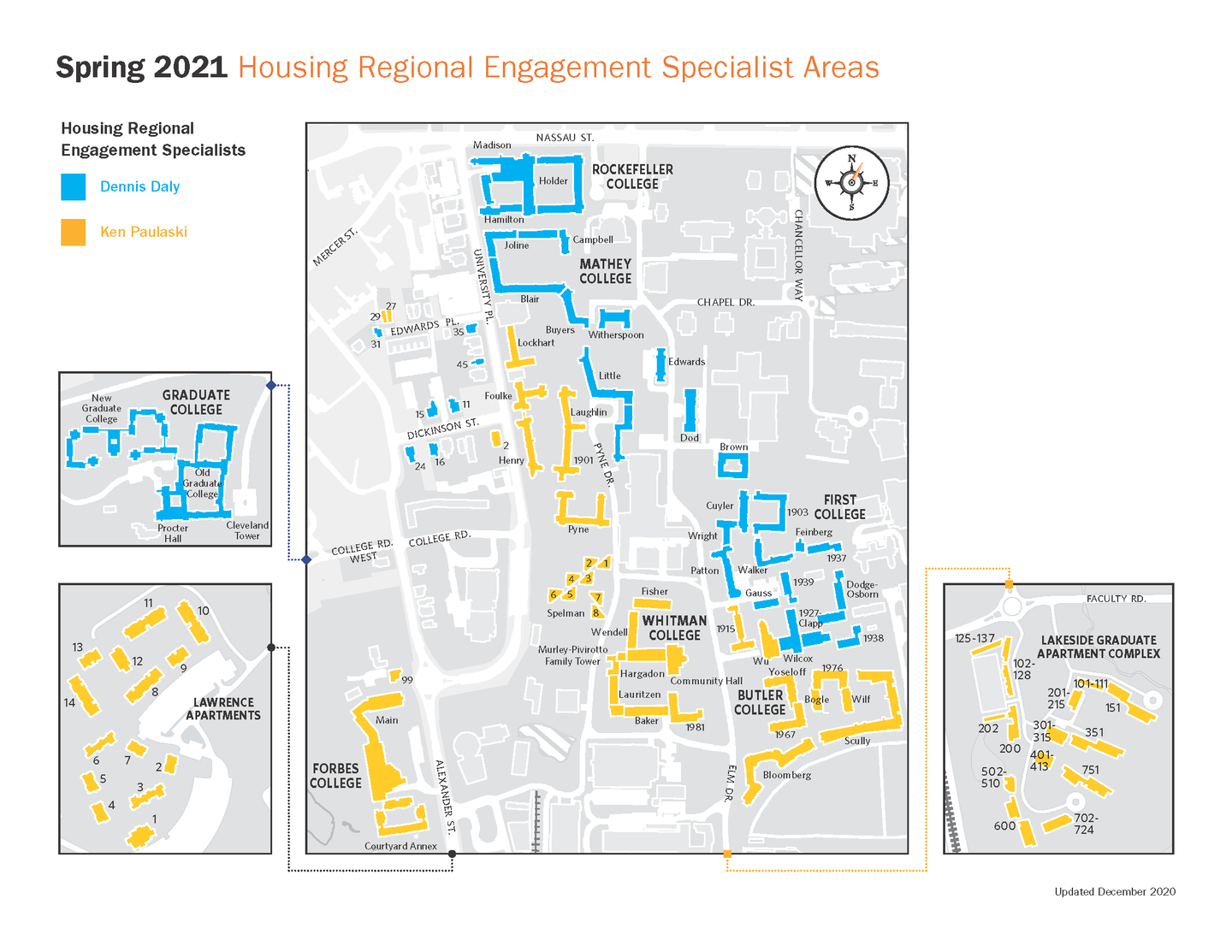 Housing Engagement Zones Spring 2021