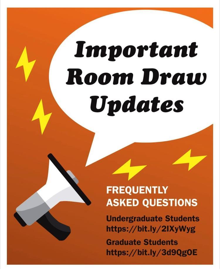 Important Room Draw Updates